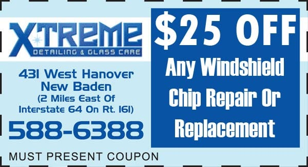 windshield chip repair new baden il